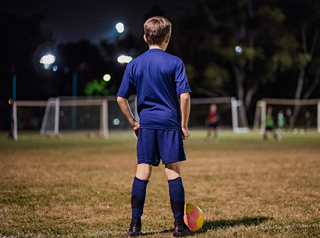 From football to frustration - growing up with an ABI
