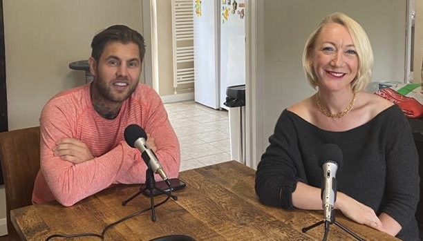 Resilience podcast recording Helen Jackson and Ben Tansley